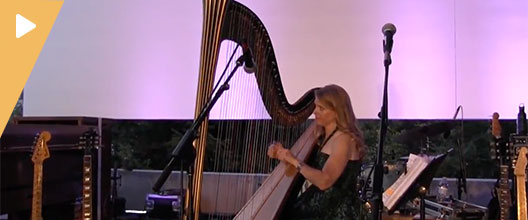 The Solo Harp of Susan Haas