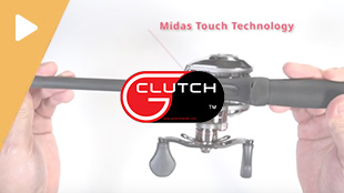 G Clutch Fishing Rod Handle with Midas Touch Technology - Product Demo